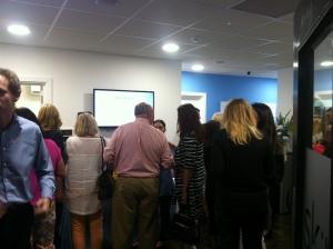 Crowd at Sk:n Cardiff David Lloyd
