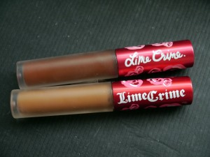 Lime Crime Salem and Shroom Review